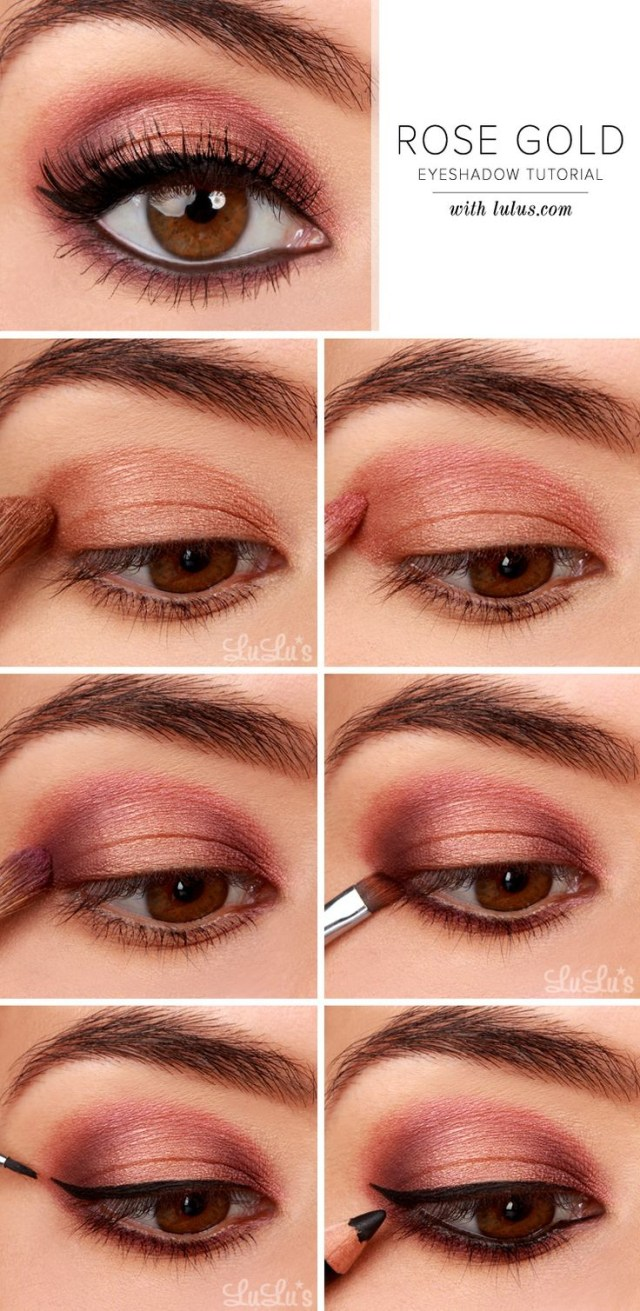 Brown And Purple Eye Makeup 27 Pretty Makeup Tutorials For Brown Eyes Styles Weekly