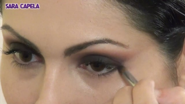 Brown And Purple Eye Makeup Purple Smokey Eye Makeup Tutorial Video Dailymotion