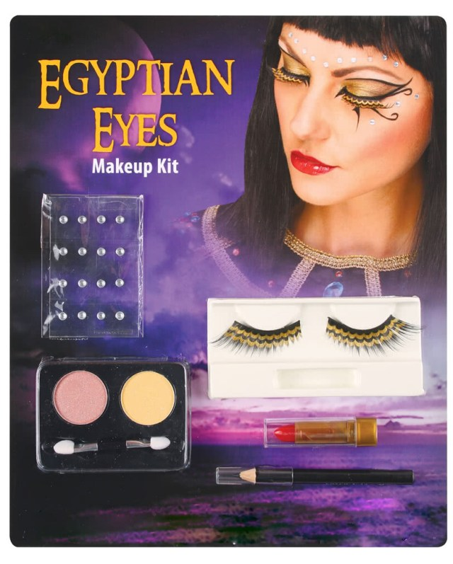 Cleopatra Eye Makeup Cleopatra Eye Makeup Set Make Up For Pharaoh Trim Karneval