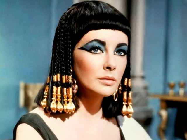 Cleopatra Eye Makeup Elizabeth Taylor And The Myth Of Blue Eye Shadow Hazlitt