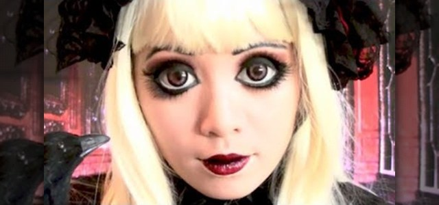 Doll Makeup Eyes How To Get A Gothic Lolita Doll Makeup Look Inspired Anime