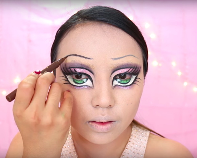 Doll Makeup Eyes This Bratz Doll Halloween Transformation Will Terrify And Intrigue