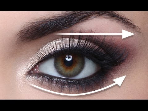 Dramatic Makeup For Small Eyes The Straight Line Technique For Hooded Eyes Full Demo Youtube
