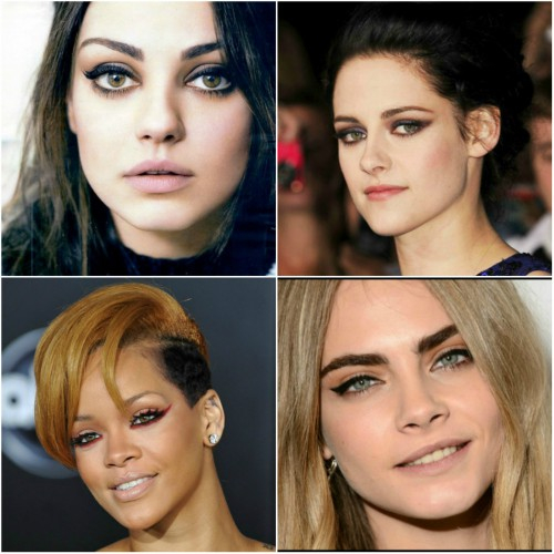 Edgy Eye Makeup 8 Edgy Cat Eye Inspirations From Hollywood