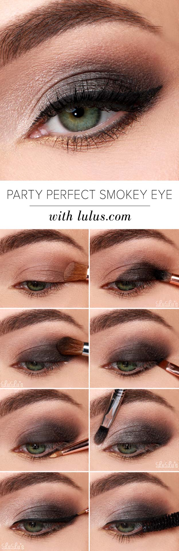 Eye Makeup Evening Smokey Eye Makeup Tutorial How To Do A Smokey Eye Makeup Tbg