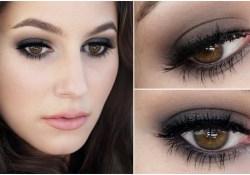 Eye Makeup For Black Dress The Little Black Dress Of Makeup Smokey Eye Tutorial Youtube