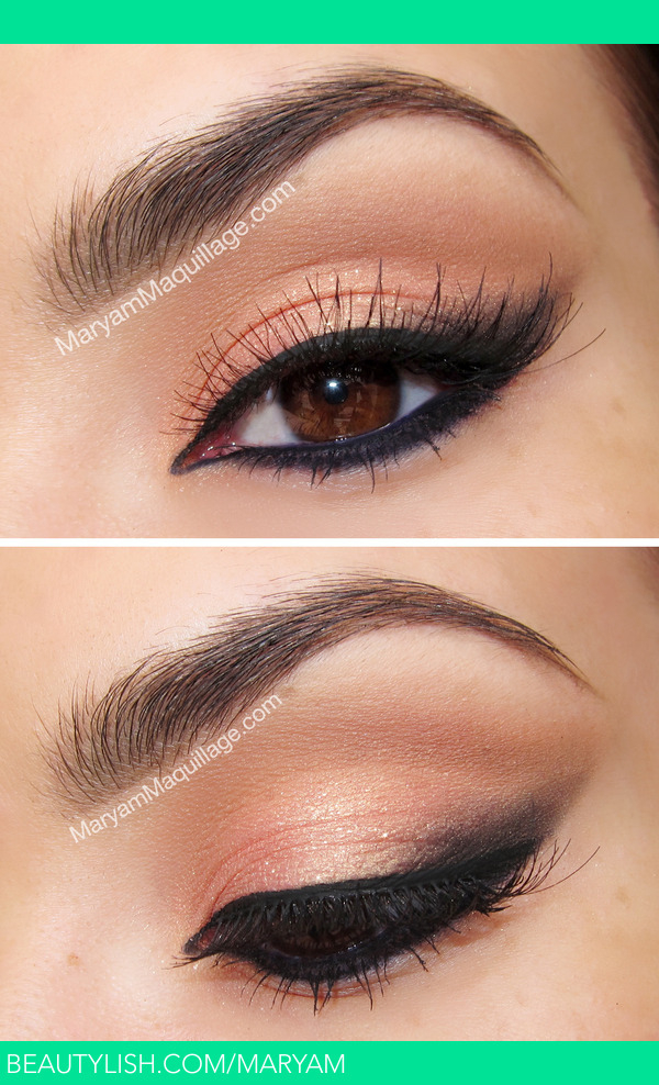 Eye Makeup For Coral Dress Royal Coral Cat Eye Maryam Ms Maryam Photo Beautylish