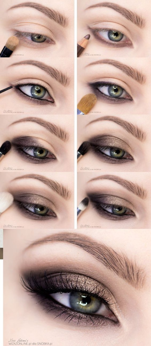 Eye Makeup For Light Brown Skin 15 Smokey Eye Tutorials Step Step Guide To Perfect Hollywood Makeup