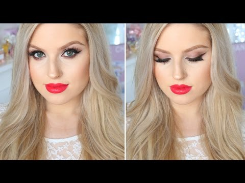 Eye Makeup For Pale Skin Makeup For Fair Or Pale Skin Evening Smokey Eyes Bright Red