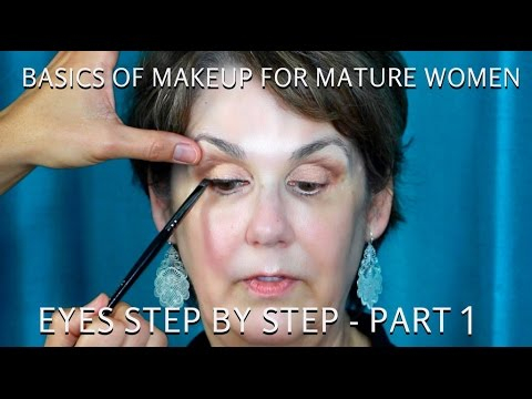 Eye Makeup For Women Over 60 How To Do Makeup For Women Over 60 Part 1 Mature Eyes Tutorial
