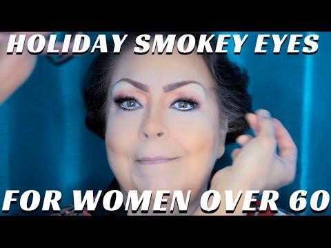 Eye Makeup For Women Over 60 Mature Women Over 60 Holiday Eye Makeup Tutorial Part 1