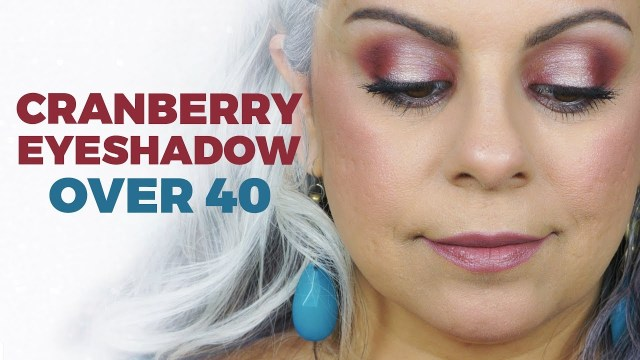 Eye Makeup Over 40 Holiday Makeup Tutorial For Women Over 40 Youtube