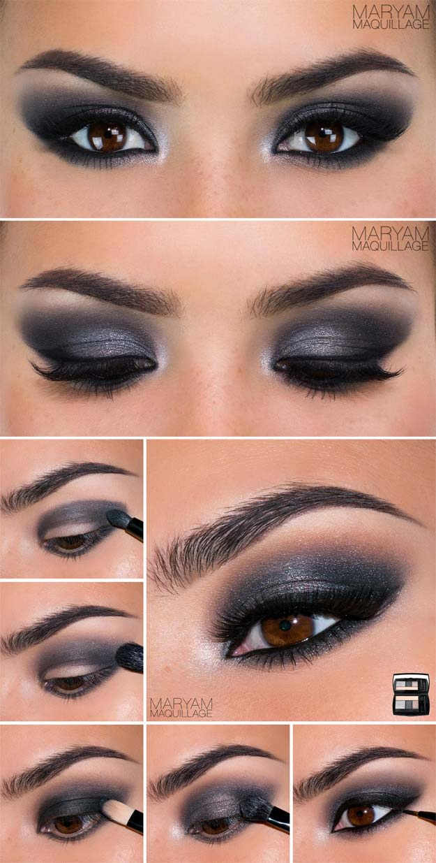 Eye Makeup Smokey Brown 30 Wedding Makeup For Brown Eyes The Goddess