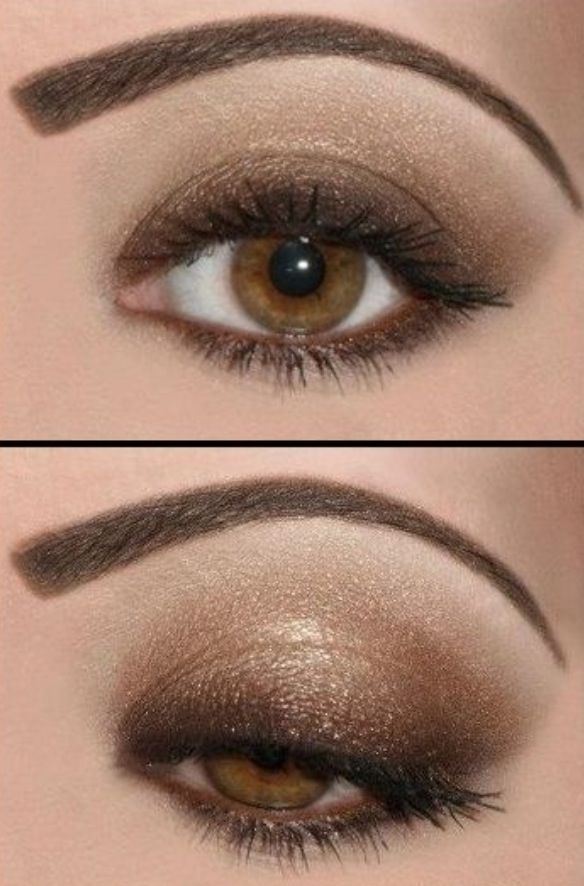Eye Makeup Smokey Brown 45 Brown Eyes Makeup Looks And Tutorials To Highlight Those