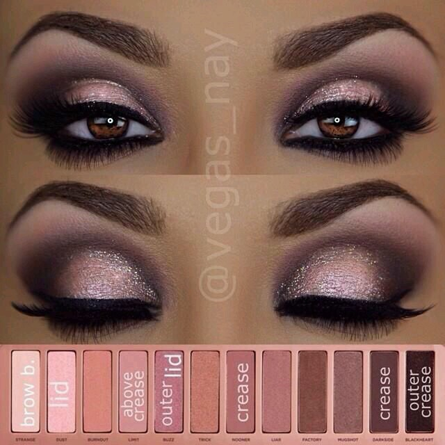 Eye Makeup Smokey Brown Beautiful Pink With Brown Smokey Eye Shadow Looks Brenda Valdez
