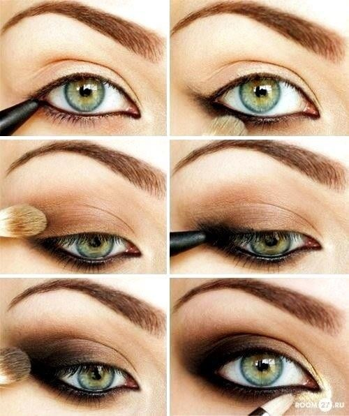 Eye Makeup Smokey Brown Top 10 Simple Smokey Eye Makeup Tutorials For Green Eyes