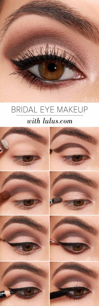 Eye Makeup Tutorial For Hazel Eyes 30 Wedding Makeup For Brown Eyes The Goddess