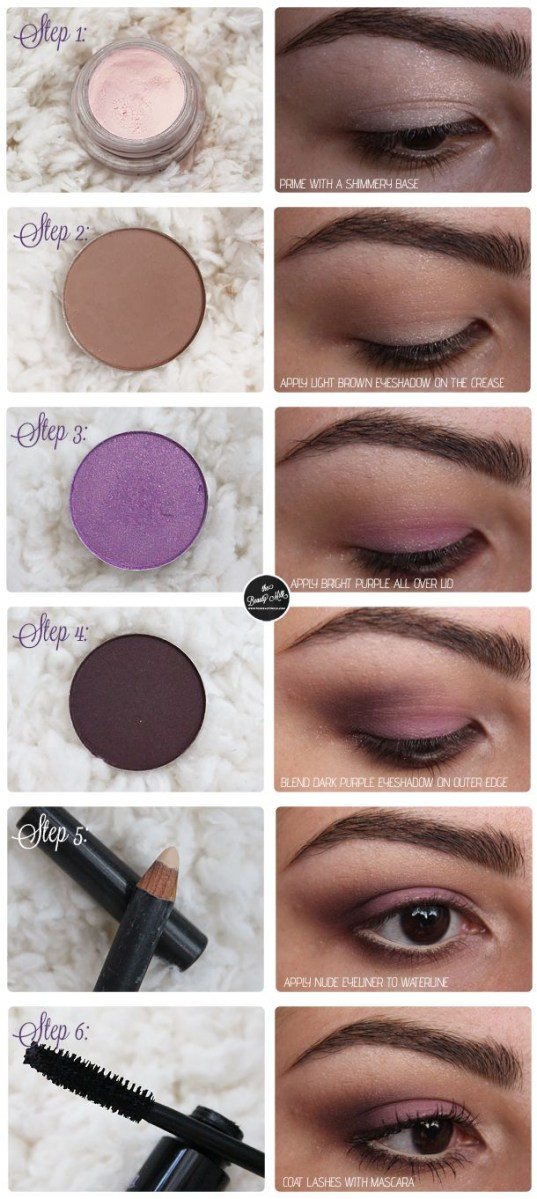 Eye Makeup Tutorial For Hazel Eyes Best Ideas For Makeup Tutorials Mac Sketch Parfait Amour Smokey