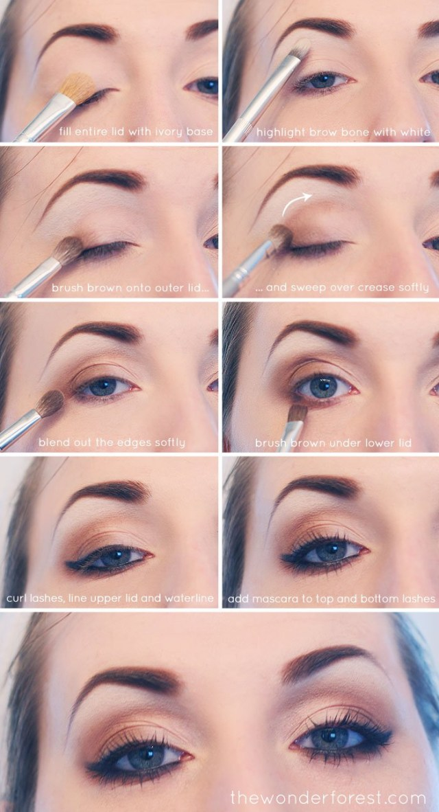 Eye Makeup Tutorials Step By Step 15 Smokey Eye Tutorials Step Step Guide To Perfect Hollywood Makeup