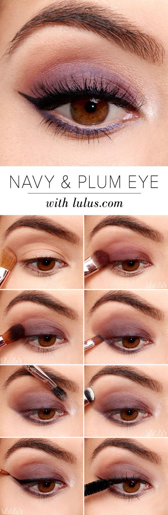 Eye Makeup Tutorials Step By Step 32 Easy Step Step Eyeshadow Tutorials For Beginners Styles Weekly