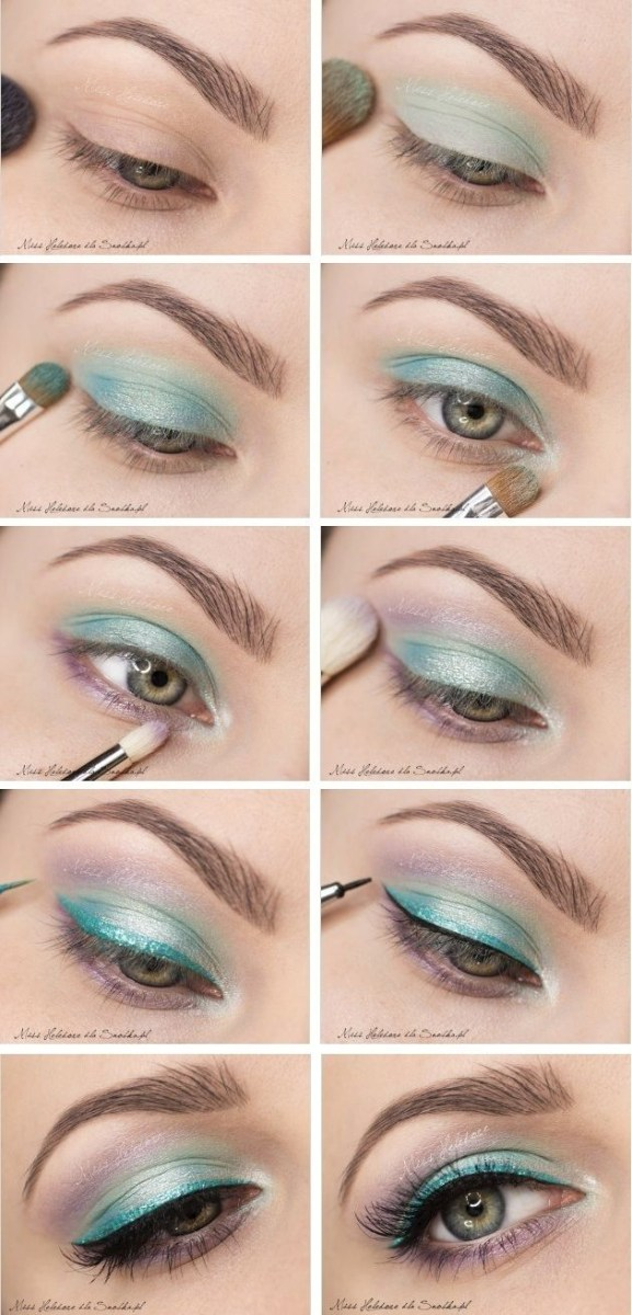 Eye Makeup With Turquoise Dress 22 Pretty Eye Makeup Ideas For Summer Pretty Designs