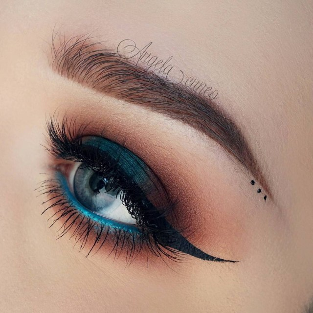 Eye Makeup With Turquoise Dress 40 Hottest Smokey Eye Makeup Ideas 2019 Smokey Eye Tutorials For