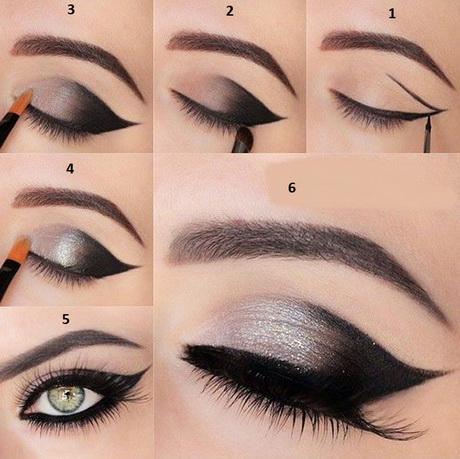 Eye Makeup With White Dress Eye Makeup For Black And White Dress Cat Eye Makeup