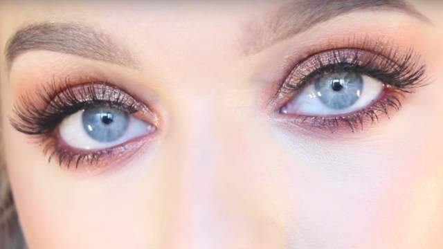 Eyes For Makeup Makeup Tutorial For Blue Eyes Fashionista