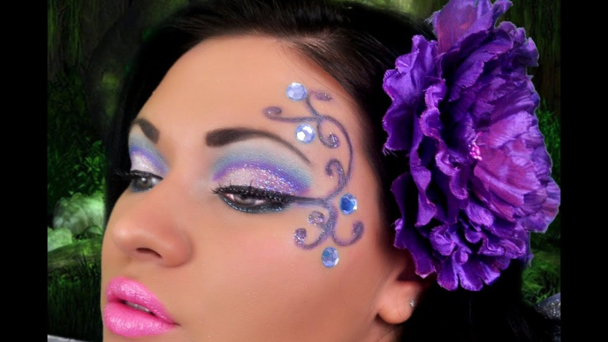 Fairy Eye Makeup Fairy Makeup Youtube
