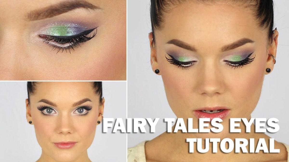 Fairy Eye Makeup Fairy Tales Eyes Tutorial With Subs Linda Hallberg Makeup