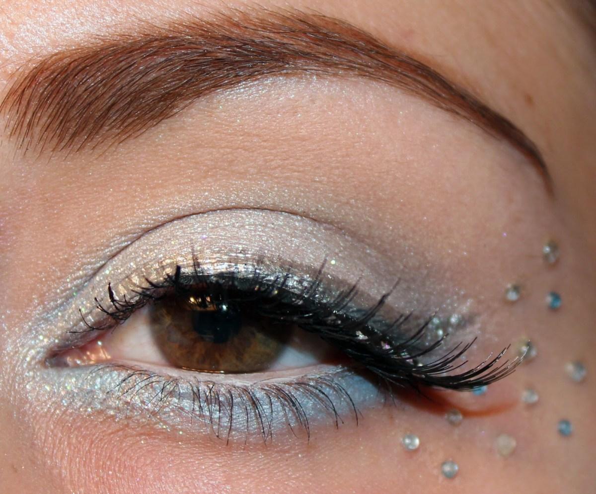 Fairy Eye Makeup Luhivys Favorite Things 12 Days Of Christmas Snow Fairy Makeup Look