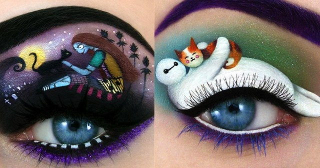 Fairy Eye Makeup This Disney And Fairy Tail Inspired Eye Makeup Art Is Stunning