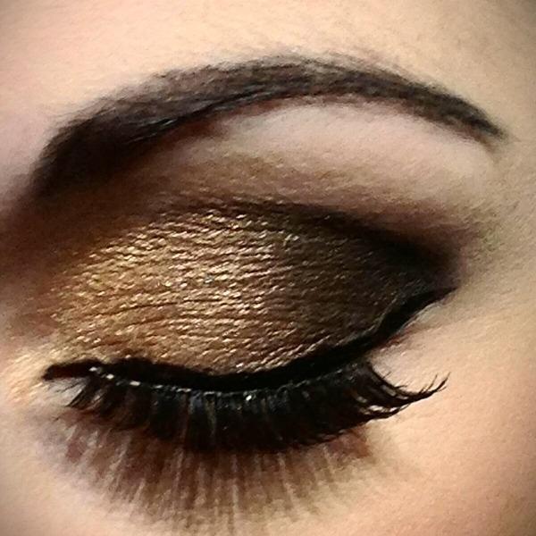 Gold And Smokey Eye Makeup Gold Smokey Eye Deirdre Ks Photo Beautylish