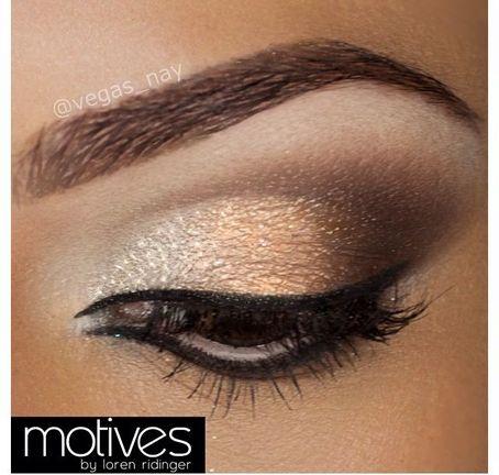 Gold And Smokey Eye Makeup Gold Smokey Eye Makeup Pinterest On The Hunt
