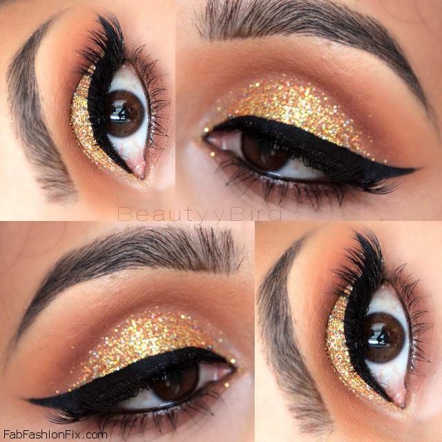 Gold And Smokey Eye Makeup Golden Smokey Eye Makeup Tutorial Lisa Eldridge Fab Fashion Fix