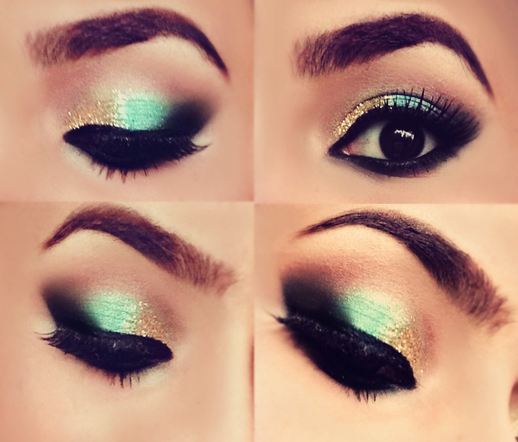 Gold Makeup For Green Eyes 50 Over The Top Prom Makeup Ideas To Make You Look Wow