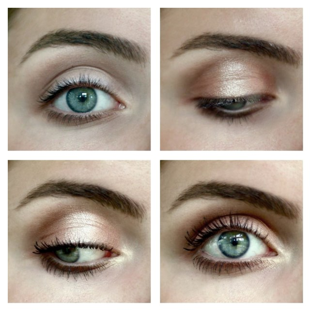 Gold Makeup For Green Eyes Makeup Tutorial Peach Golden Daytime Look Read The Trieb