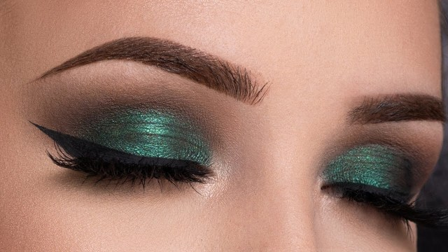 Gold Makeup For Green Eyes Metallic Green Smokey Eyes Makeup Tutorial Youtube
