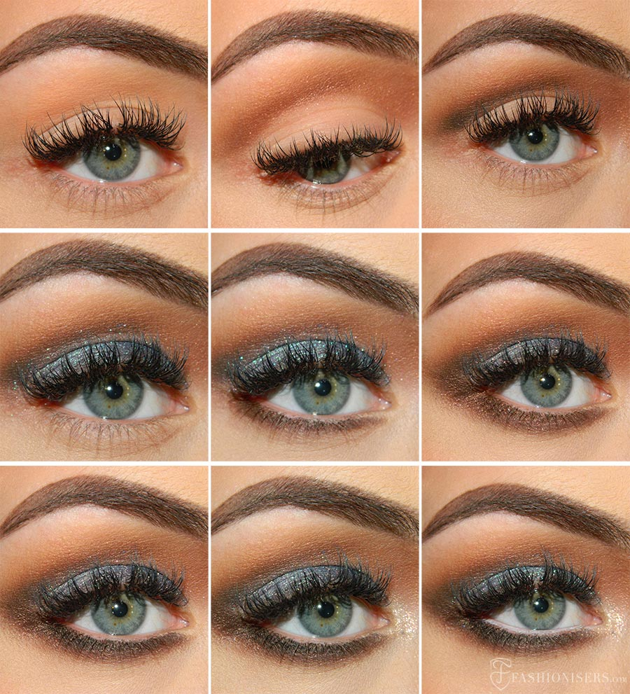 Gold Makeup For Green Eyes Prom Eye Makeup Tutorial Makeup Styles
