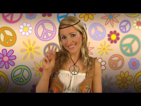 Hippie Eye Makeup Retro Hippie Costume Makeup Application Youtube