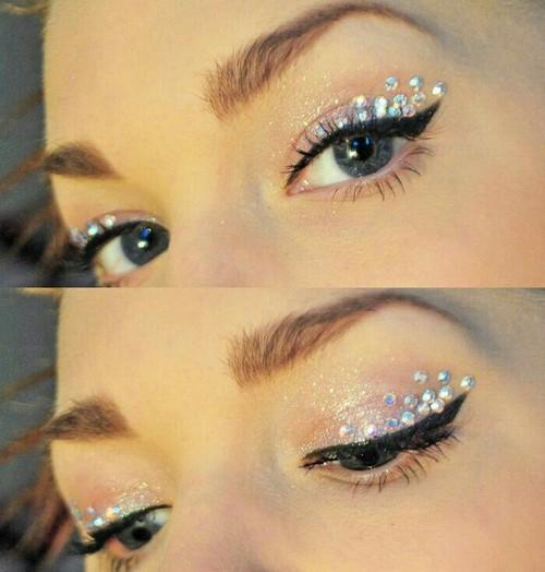 Hippie Eye Makeup Shineeee Shared Rockerhippie On We Heart It