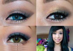 Homecoming Makeup For Blue Eyes Homecoming Makeup Tutorial 3 Looks For 3 Different Eye Colors