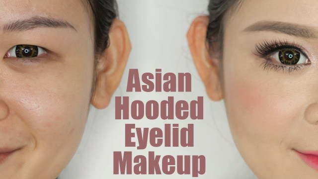 Hooded Eyes Makeup Asian Hooded Eyelids Makeup Youtube