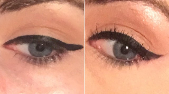 How Do You Do Cat Eye Makeup Easy Winged Eyeliner Trick Makes Your Cat Eye Flick So Sharp Allure