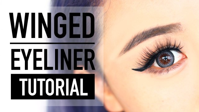 How Do You Do Cat Eye Makeup How To Do Winged Eyeliner For Hooded Eyes Tutorial Cat Liner
