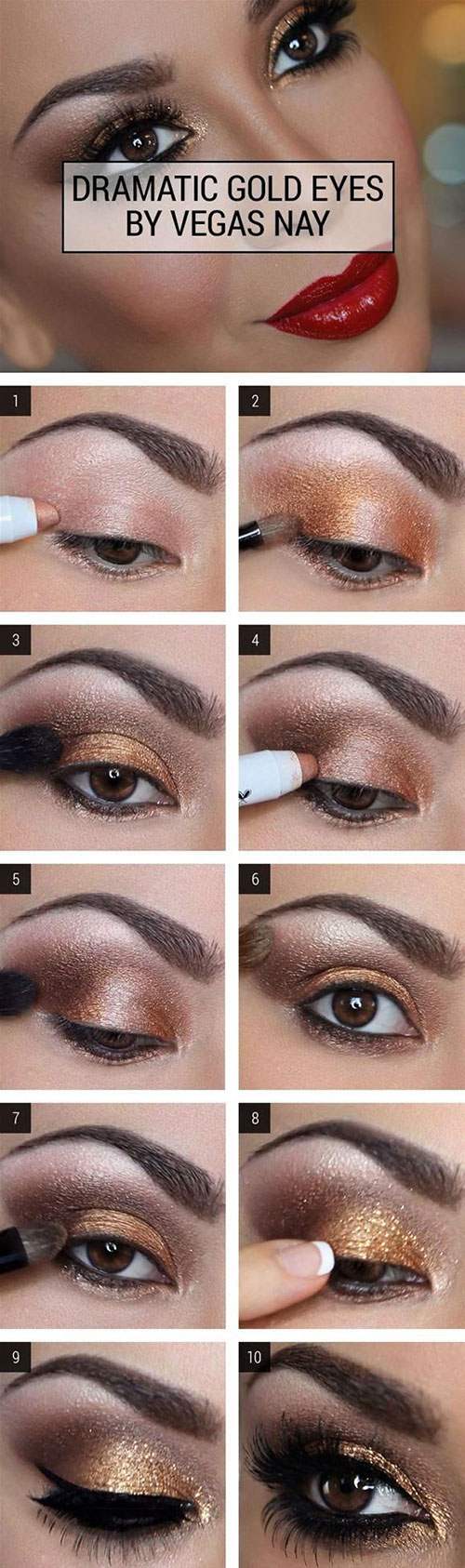 How To Create Smokey Eye Makeup How To Do Smokey Eye Makeup Top 10 Tutorial Pictures For 2019