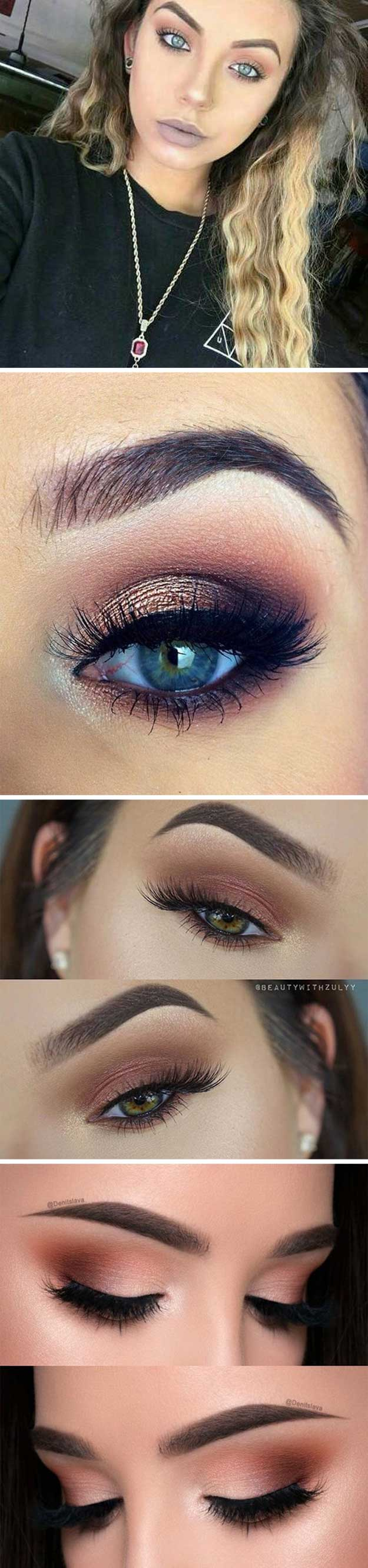 How To Do Makeup For Blue Eyes 35 Wedding Makeup For Blue Eyes The Goddess
