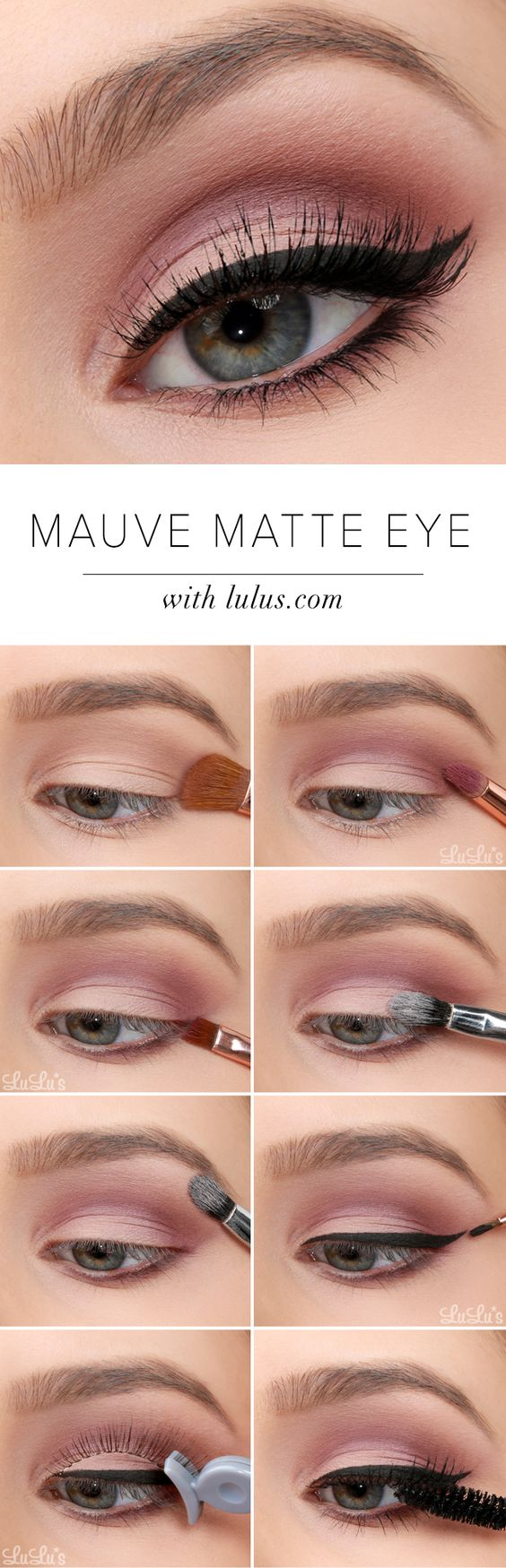 How To Do Perfect Eye Makeup 20 Simple Easy Step Step Eyeshadow Tutorials For Beginners Her
