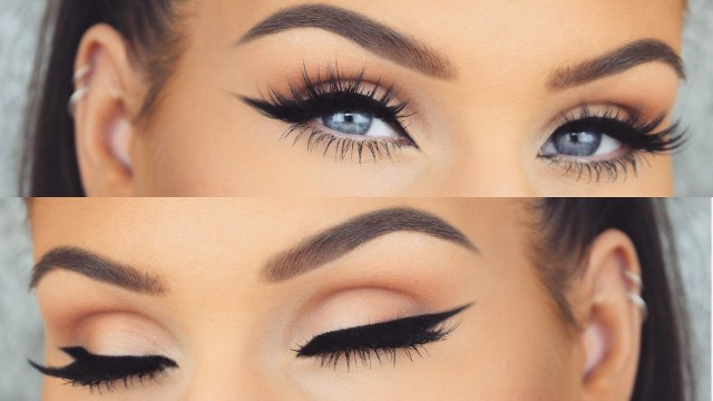 How To Do Perfect Eye Makeup How To Perfect Winged Eyeliner Every Time Cat Eye Tutorial Youtube