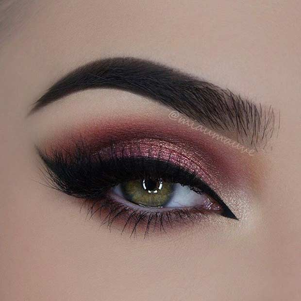 Makeup Eye Looks 31 Pretty Eye Makeup Looks For Green Eyes Stayglam Page 3